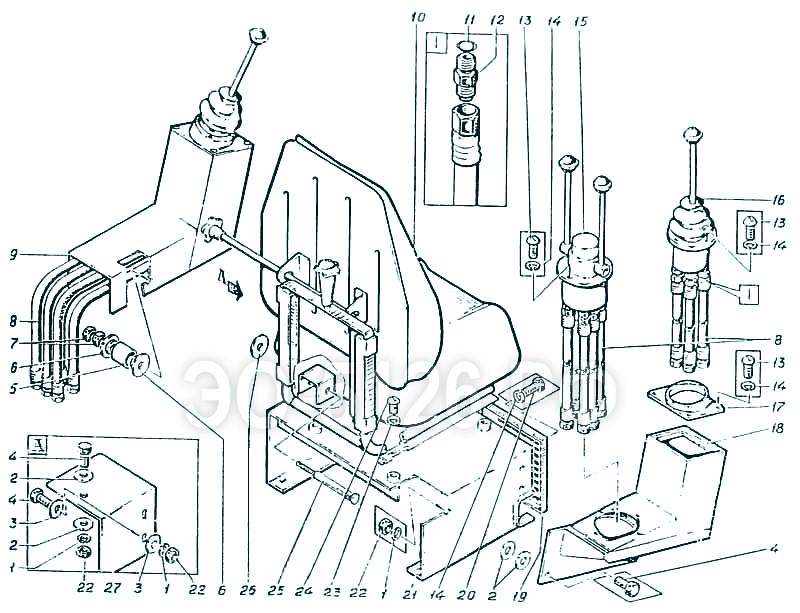 ЭО-5126 - Пульт-кресло