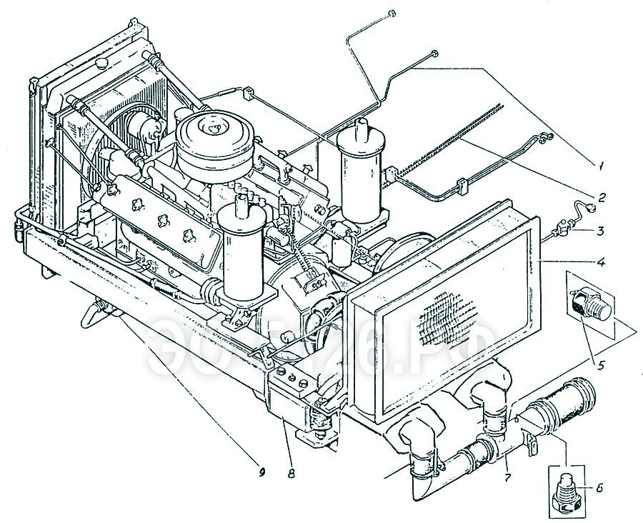 ЭО-5126 - Установка силовая