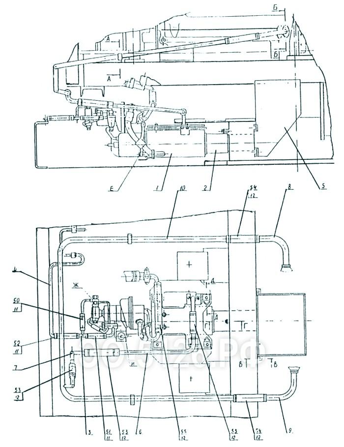 ЭО-5126 - Установка подогревателя