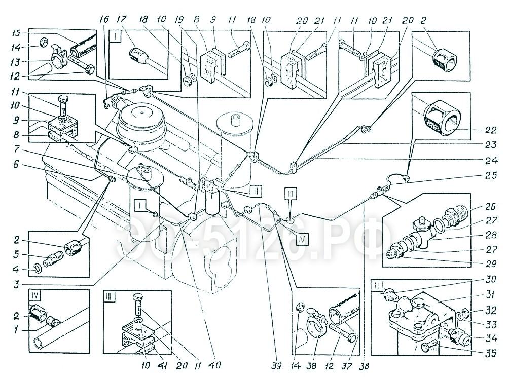 ЭО-5126 - Система топливная