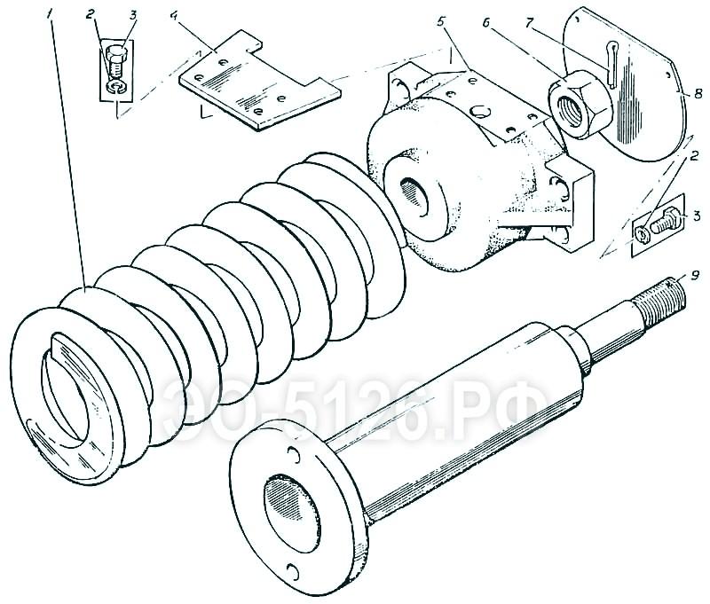 ЭО-5126 - Механизм сдавливания