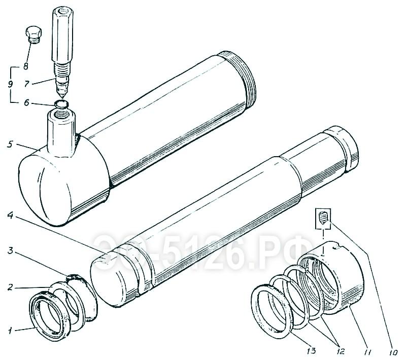 ЭО-5126 - Гидроцилиндр