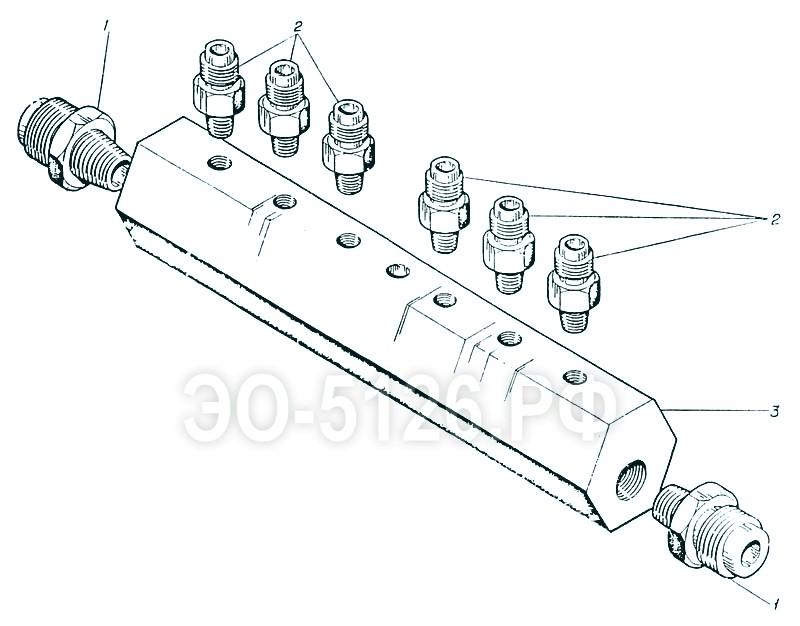 ЭО-5126 - Коллектор в сборе