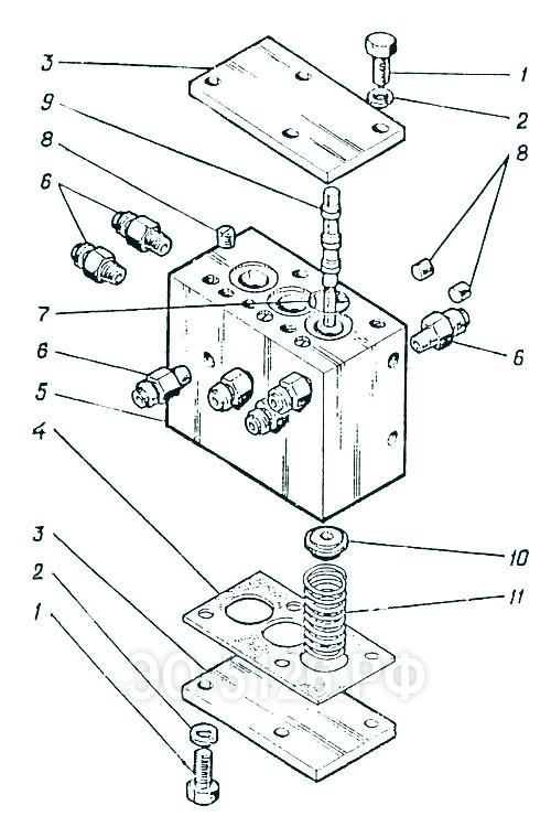 ЭО-5126 - Блок золотников