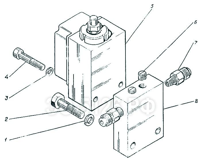 ЭО-5126 - Установка реле давления