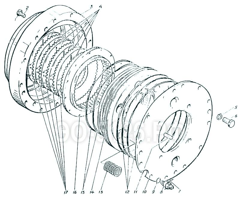 ЭО-5126 - Тормоз