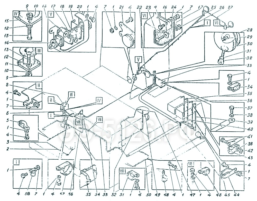 ЭО-5126 - Проводка