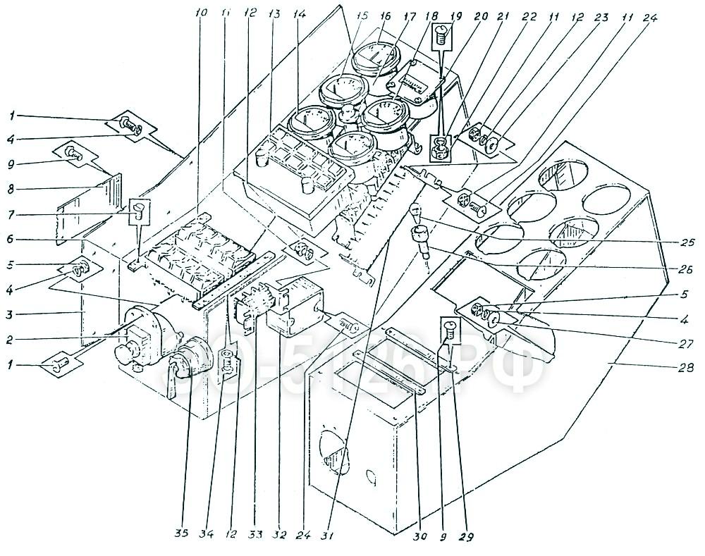 ЭО-5126 - Щиток управления