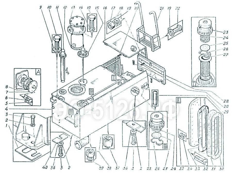 ЭО-5126 - Установка блока баков