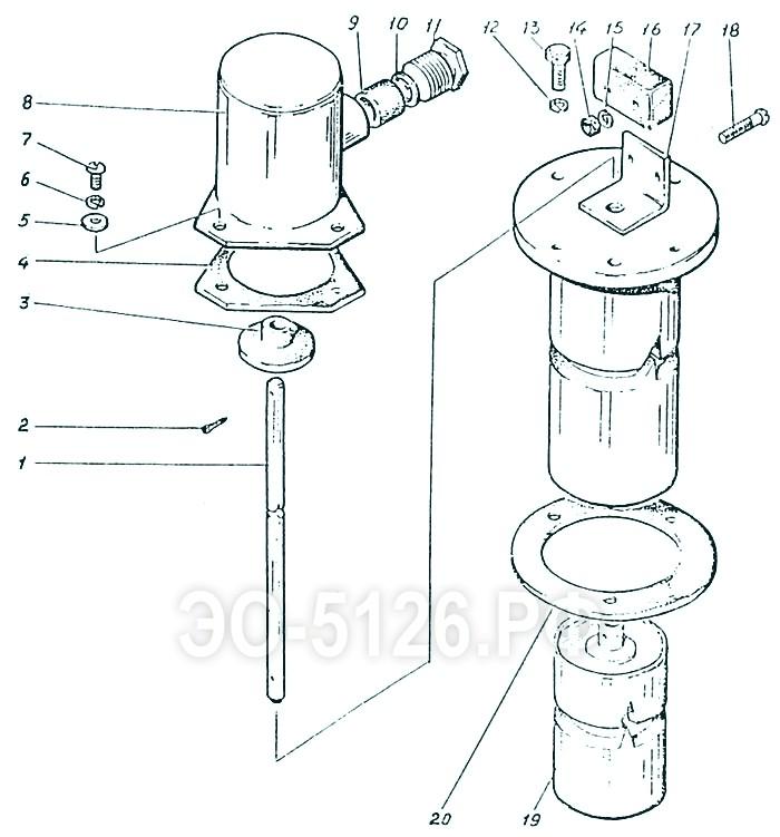 ЭО-5126 - Установка датчика уровня