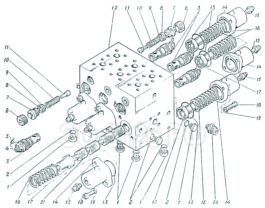 ЭО-5126 - Гидроаппарат гидромоторов