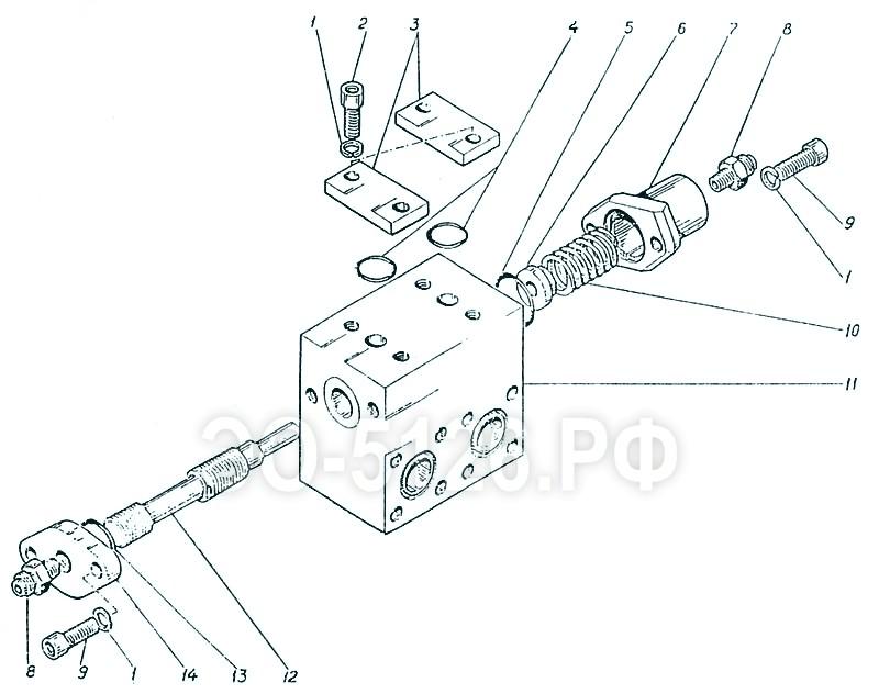 ЭО-5126 - Золотник тормозной