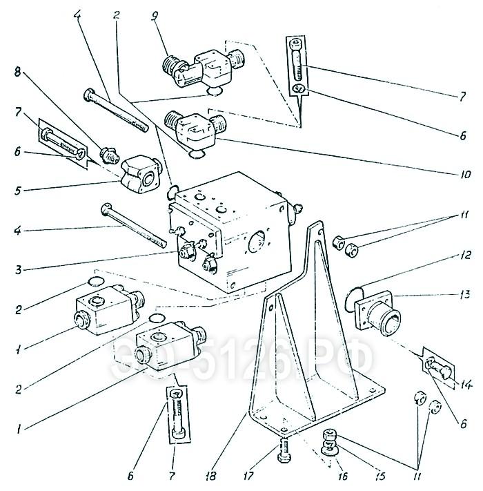 ЭО-5126 - Установка гидроаппарата