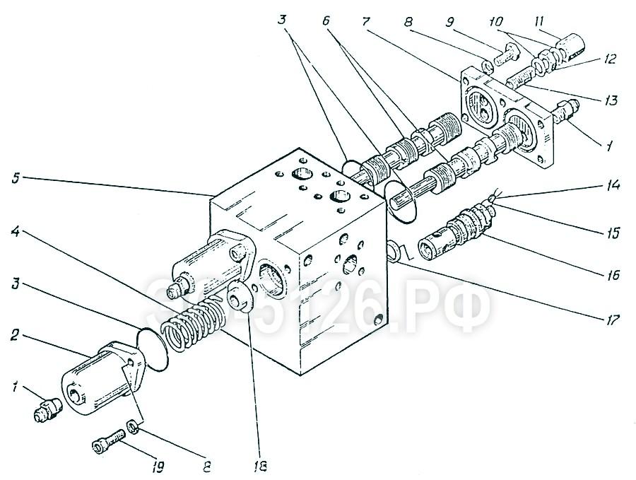 ЭО-5126 - Гидроаппарат регулирующий