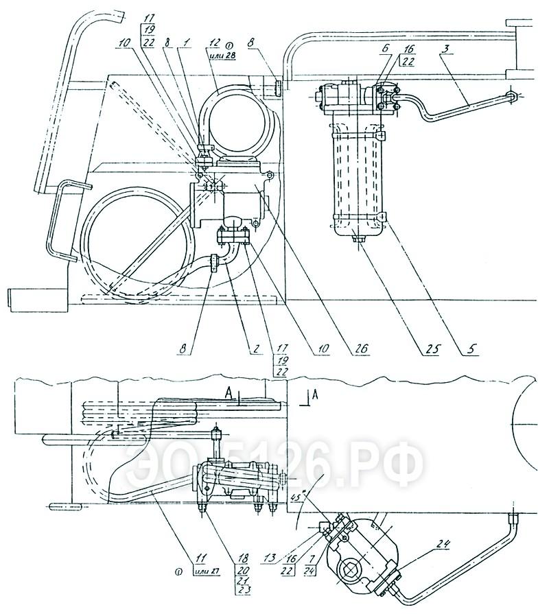 ЭО-5126 - Установка перекачивающего насоса