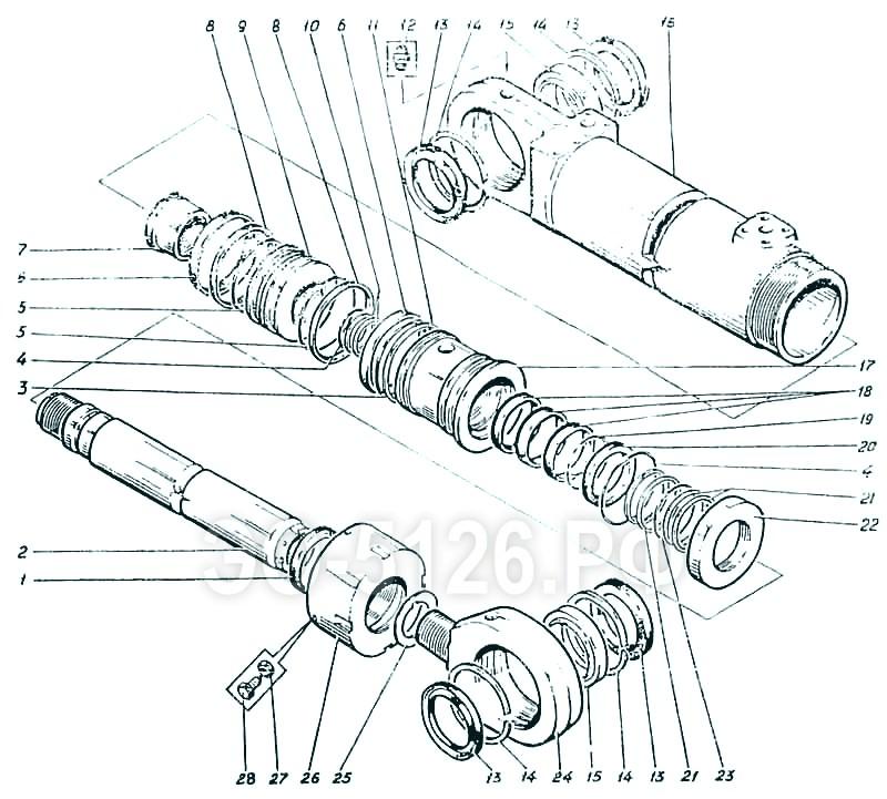 ЭО-5126 - Гидроцилиндр стрелы