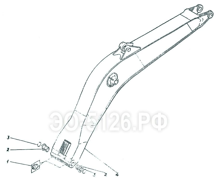 ЭО-5126 - Стрела моноблочная