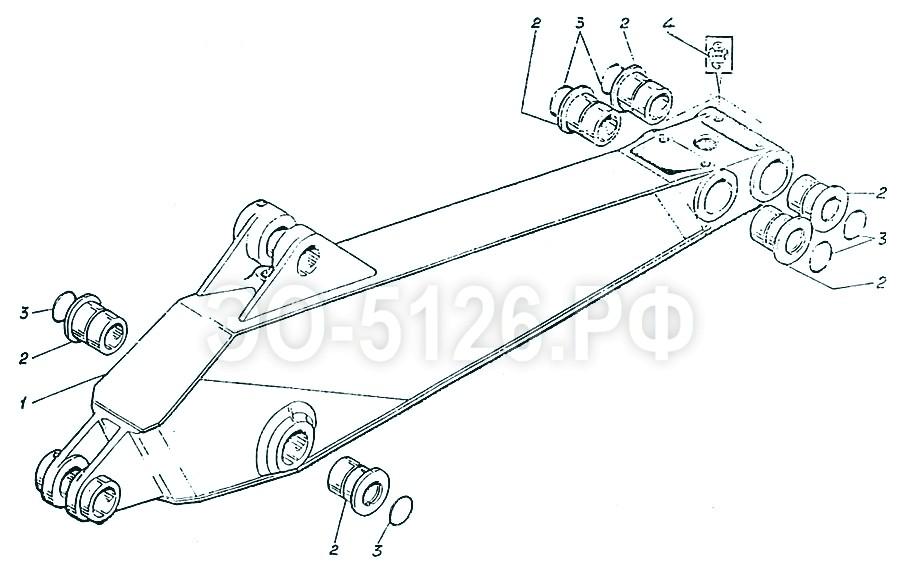 ЭО-5126 - Рукоять обратной лопаты