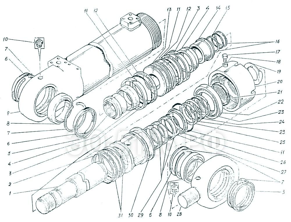 ЭО-5126 - Гидроцилиндр рукояти