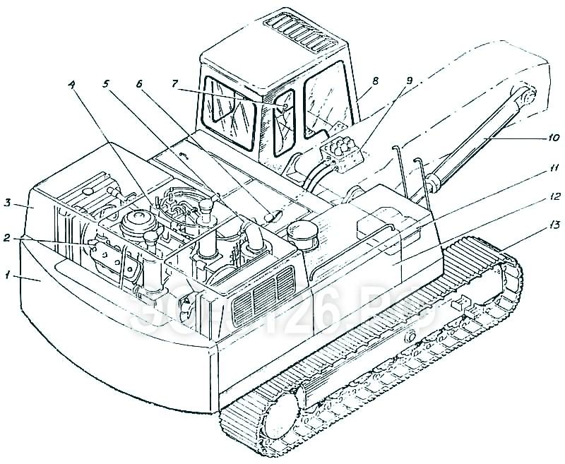 ЭО-5126 - Экскаватор одноковшовый