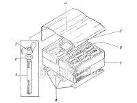 Установка аккумуляторов ЭО-5126