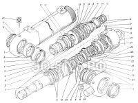 Гидроцилиндр рукояти ЭО-5126