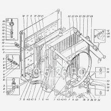 ЭО-5126 Установка радиаторов