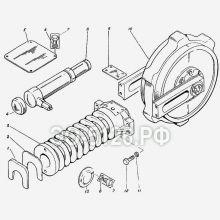 ЭО-5126 Колесо натяжное с механизмом сдавливания