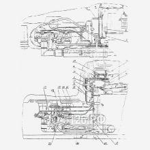 ЭО-5126 Трубопроводы управления