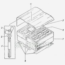ЭО-5126 Установка аккумуляторов