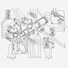 ЭО-5126 Трубопроводы всасывания