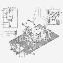 ЭО-5126 Гидрооборудование кабины