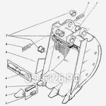 ЭО-5126 Ковш 1 куб.м