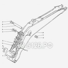 ЭО-5126 Установка моноблочной стрелы