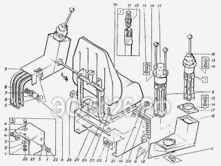 Пульт-кресло ЭО-5126