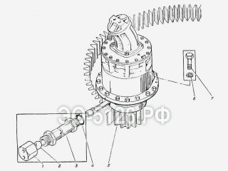Привод поворота ЭО-5126