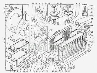 Установка маслоохладителя ЭО-5126
