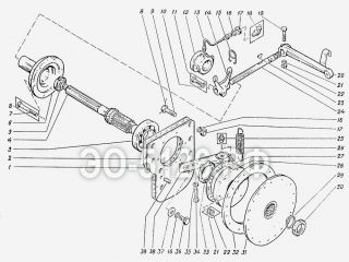 Муфта сцепления ЭО-5126