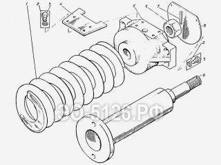 Механизм сдавливания ЭО-5126