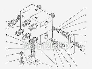 Блок клапанов ЭО-5126