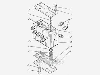 Блок золотников ЭО-5126