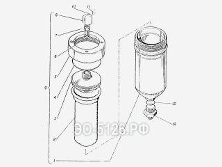 Пневмоаккумулятор ЭО-5126