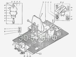 Гидрооборудование кабины ЭО-5126