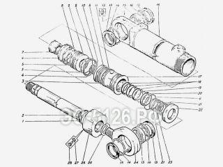 Гидроцилиндр стрелы ЭО-5126