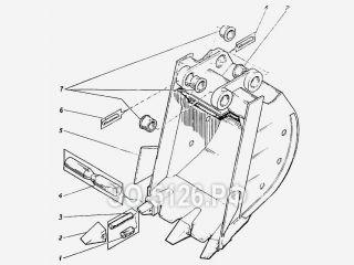 Ковш 1 куб.м ЭО-5126