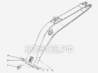 Стрела моноблочная ЭО-5126