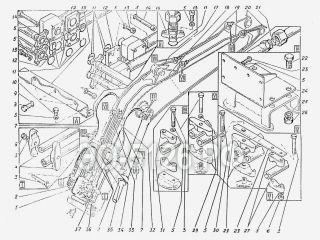 Трубопроводы стрелы ЭО-5126