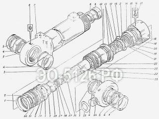 Гидроцилиндр ковша ЭО-5126
