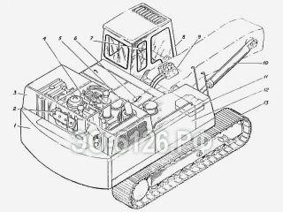 Экскаватор одноковшовый ЭО-5126